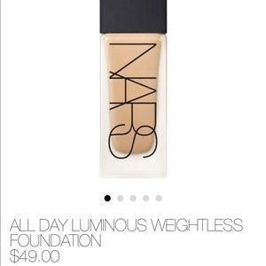 Makeup - NARS foundation - Light 4